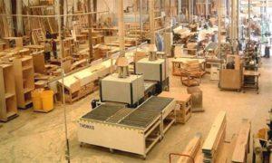 توافر الأخشاب اللازمة للصناعة
